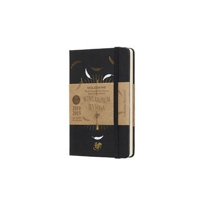 Moleskine 2018-2019 18M Limited Edition Harry Potter Weekly Notebook, Pocket, Moleskine 1