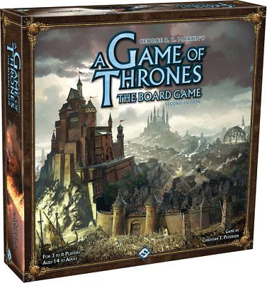 A Game of Thrones: The Board Game Second Edition Fantasy Flight Games 1