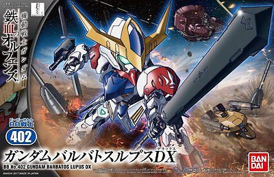 BB SD #402 Gundam Barbatos Lupus DX Model Kit USA Seller In Stock