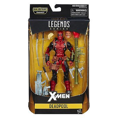 "Hasbro Marvel Legends Series Deadpool 6"" 6 Inch Action Figure IN-HAND USA Hasbro 1"
