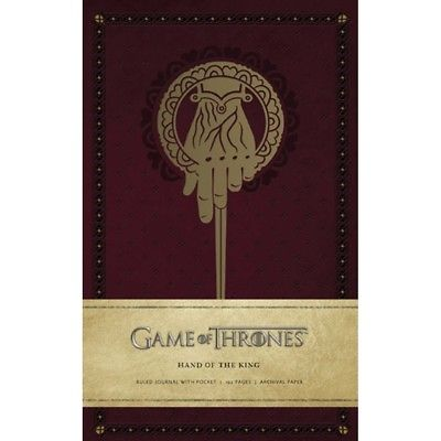 Game of Thrones: Hand of the King Hardcover Ruled Jour, Drama TV by Simon & imusti 1