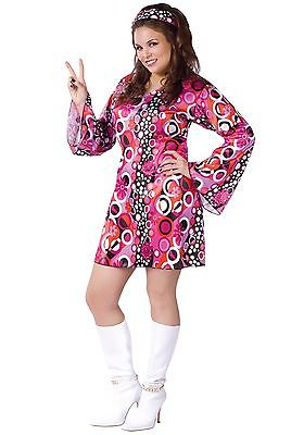 Plus Size Feelin Groovy Dress Fun World