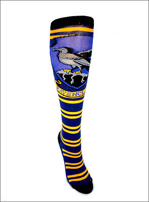 Harry Potter Ravenclaw Crest Cosplay Costume Long Knee High Boot Striped Socks Bioworld 1