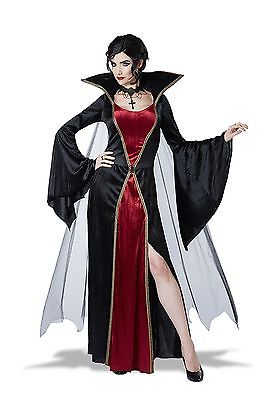 Women's Classic Vampire Costume California Costume