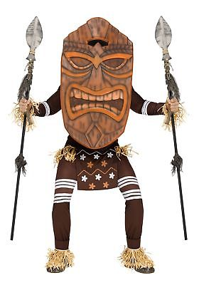 Adult Tiki Warrior Costume Fun World