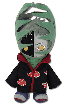 "Licensed 10"" Flytrap Zetsu Stuffed Plush Doll - GE-8975 - Naruto Shippuden Great Eastern 1"