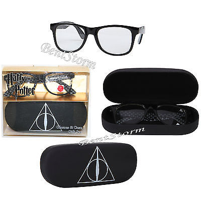 Harry Potter and the Deathly Hallows Sunglasses & Hard Case Gift Set 100% UVA Warner Bros. 1