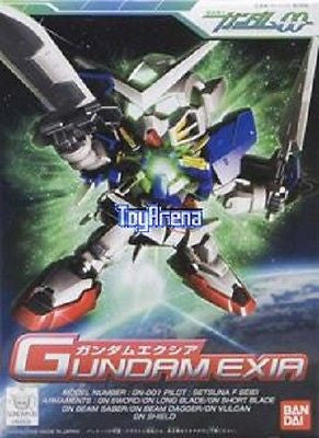BB SD #313 Gundam Exia Mobile Suit Model Kit Bandai