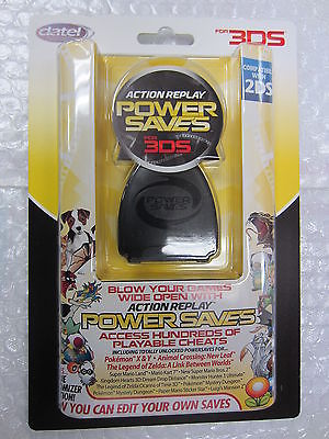 Licensed Official Datel Action Replay Power Saves for 3DS & 2DS Cheat Codes  Pokemon X&Y