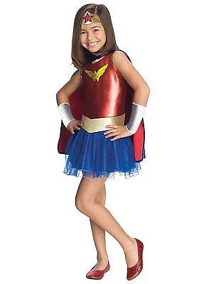 Kids Wonder Woman Tutu Costume Rubies