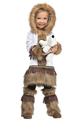 Toddler Girls Eskimo Costume Fun World
