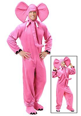Adult Pink Elephant Costume Charades