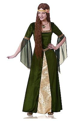 Adult Green Renaissance Lady Costume Franco