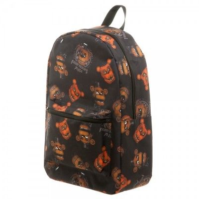 Five Nights at Freddy's Freddy Fazbear All-Over-Print (AOP) Backpack by BioWorld FNAF 1