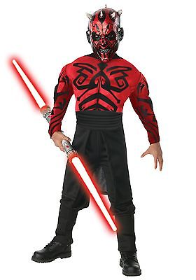 Child Deluxe Muscle Chest Darth Maul Costume Rubies