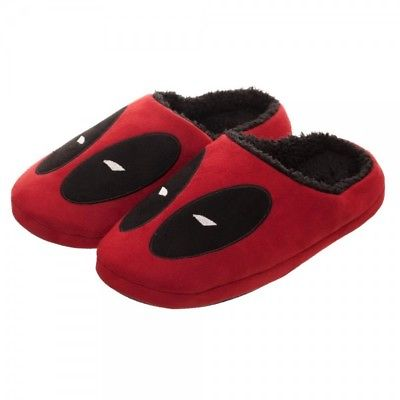 Bioworld - Marvel Comics - Deadpool Red Scuff Slippers (M) - (7-8 Men/8-9 Women) Bioworld 1