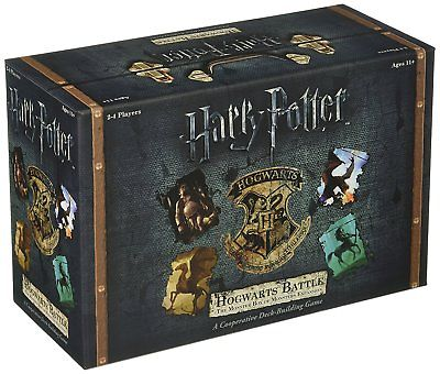 Harry Potter Hogwarts Battle The Monster Box of Monsters Expansion Card Game New USAopoly 1