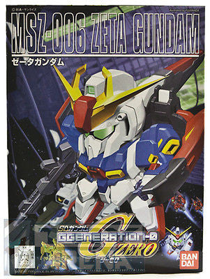 BB SD #198 MSZ-006 Zeta Gundam GGeneration-0 Model Kit Bandai
