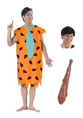 Mens Fred Flintstone Costume Package Rubies Costume Co. Inc