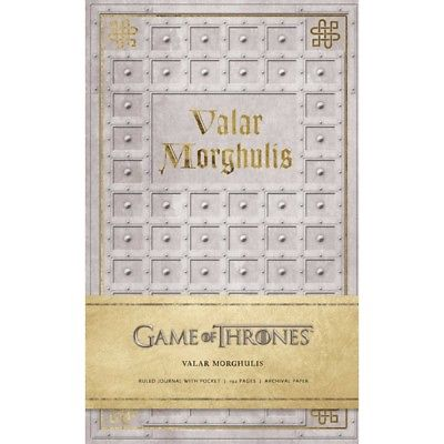 Game of Thrones: Valar Morghulis Hardcover Ruled Journ, Drama TV by Simon & imusti 1