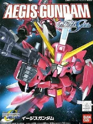 BB SD #261 GAT-X303 Aegis Gundam Seed Model Kit Bandai