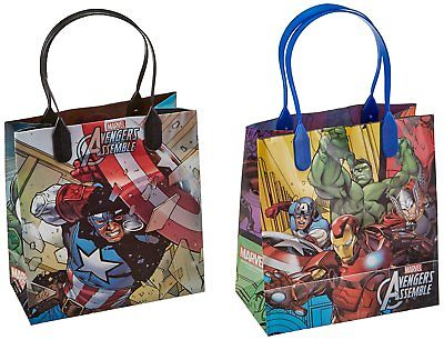 12PCS Marvel Avengers Assemble Goodie Party Favor Gift Birthday Loot Bags Unbranded 1