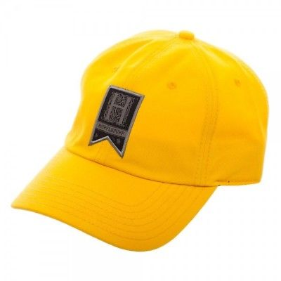 d73c349676589 BioWorld - Harry Potter Traditional Adjustable Hat Cap - Hufflepuff Harry  Potter 1