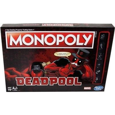 Deadpool Monopoly, Action Movies by Hasbro Hasbro 1