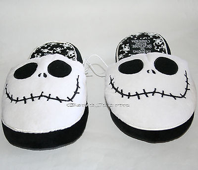e9641f8fa25 NEW The Nightmare Before Christmas JACK ADULT Slippers PLUSH HOUSE SHOES S    M DISNEY