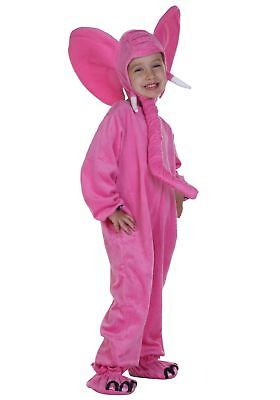 Child Pink Elephant Costume Charades