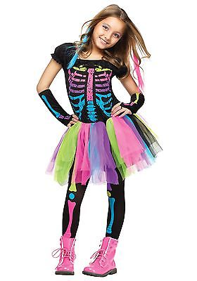 Girls Funky Punky Bones Costume Fun World