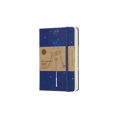 Moleskine 2019 12M Limited Edition Harry Potter Daily, Pocket, Daily, Blue, Hard Moleskine 1