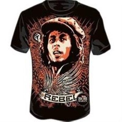 Tops & Tees 2017 Casual Bob Marley Hiphop Males Concert Shirt O-neck Sweatshirt 3d Print Womens/mens Cartoon Pullover Summer Tees T-shirts Exquisite Traditional Embroidery Art