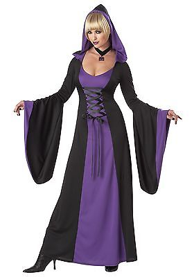 Deluxe Purple Hooded Robe California Costume