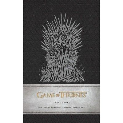 Game of Thrones: Iron Throne Hardcover Ruled Journal, Drama TV by Simon & imusti 1