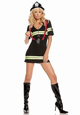 Adult Blazin Hot Firefighter Costume Elegant Moments
