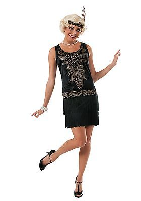 Womens Cocktail Flapper Costume Rubies