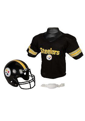Child NFL Pittsburgh Steelers Helmet and Jersey Set Franklin Sports