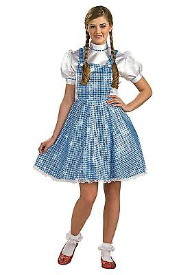 Womens Sequin Dorothy Costume Halloween Resource Center