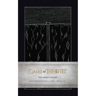Game of Thrones: The Night's Watch Hardcover Ruled Jou, Drama TV by Simon & imusti 1