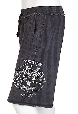 b385c52186 Archaic AFFLICTION Men Shorts NATION Athletic USA FLAG Fighter Gym UFC  S-XXL $54 Affliction