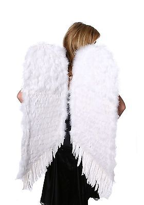 Large White Feather Angel Wings Zucker Feather