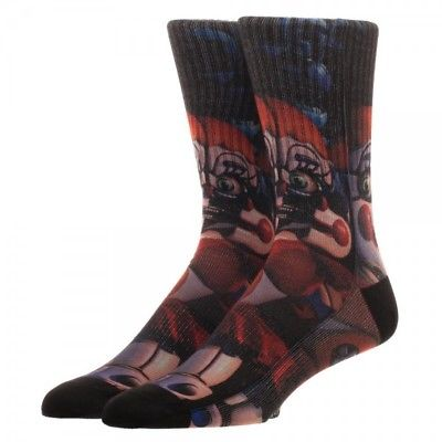 BioWorld-Five Nights at Freddy's Sister Location All Over Sublimation Crew Socks Bioworld 1