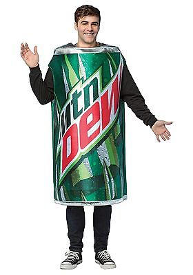 Mountain Dew Can Costume Rasta Imposta