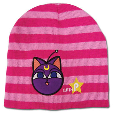 d0529dca987 Beanie Cap - Sailor Moon - Luna P Pink Stripe Anime Hat ge32439 Sailor Moon  1