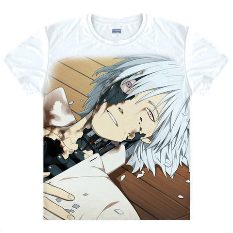 2015 Dramatical Murder Aoba Koujaku Clear T Shirt Anime Japanese Famous Animation Novelty Summer Men's T-shirt Cosplay Clothing Anime Shirts Store 1