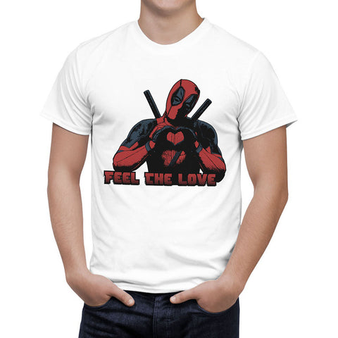 2016 Arrive American Comic Badass Deadpool T-Shirt Tees Men/women Cartoon Anime 3D T Shirt Casual tee Shirts Tops Quality B125 Personality printed Store 1