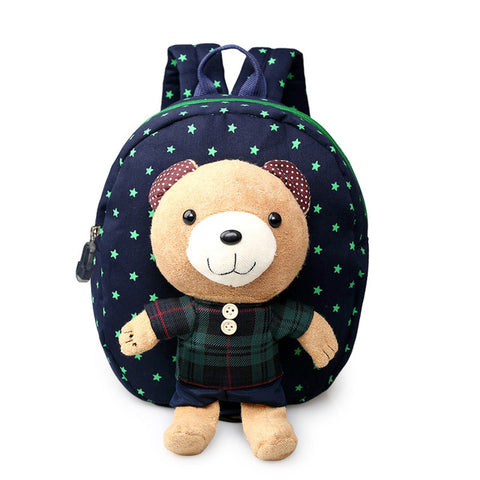 2017 Anti-lost Toddler Backpack Kids Boys Girls Babies School Bags Children Animal Backpacks With Detachable Cartoon Bear Doll AIRU Store 1
