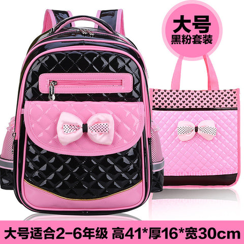 e4afdc77df58 2017 New Arrival PU Leather Girls School Bag Good Quality Children School  Bags   Kids Backpack
