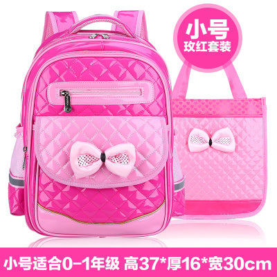c04d17c29cb8 ... 2017 New Arrival PU Leather Girls School Bag Good Quality Children  School Bags   Kids Backpack